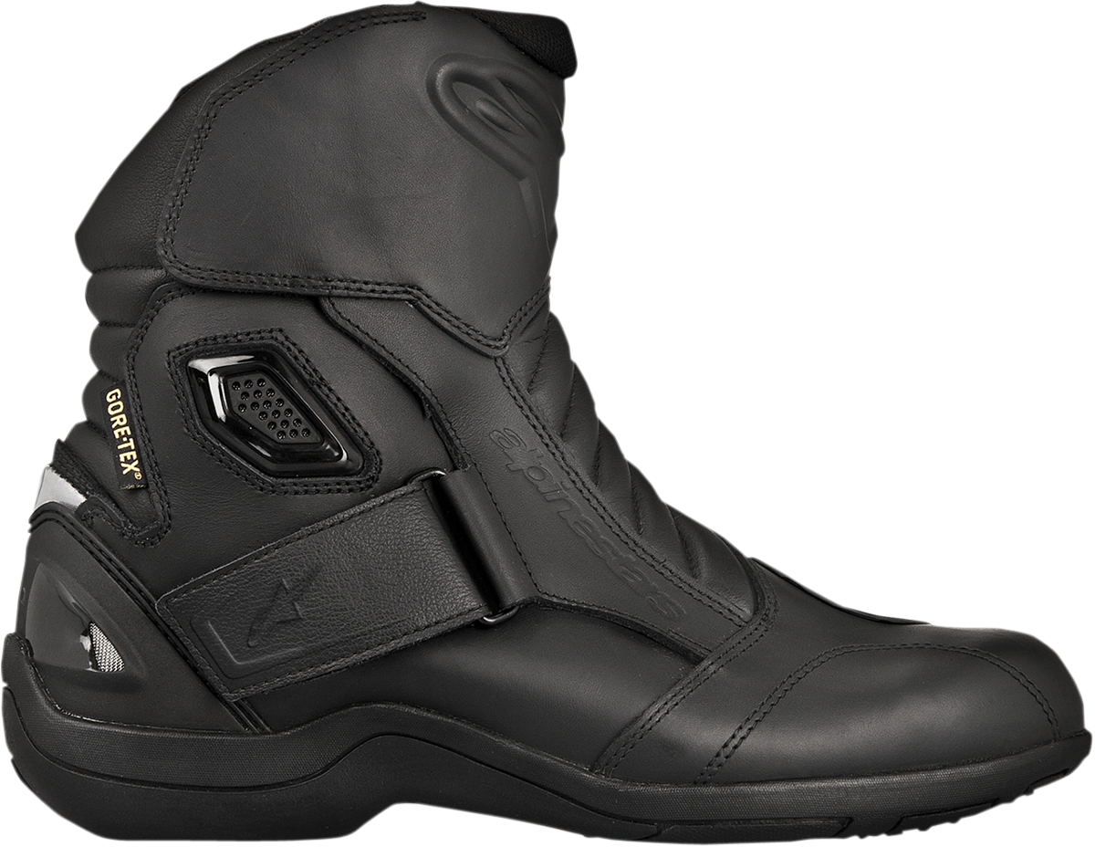 Alpinestars Mens Leather Black New Land Motorcycle Riding ...