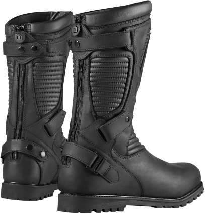 Sportbike Riding Boots >> Mens Icon 1000 Waterproof Leather Prep Motorcycle Riding Street