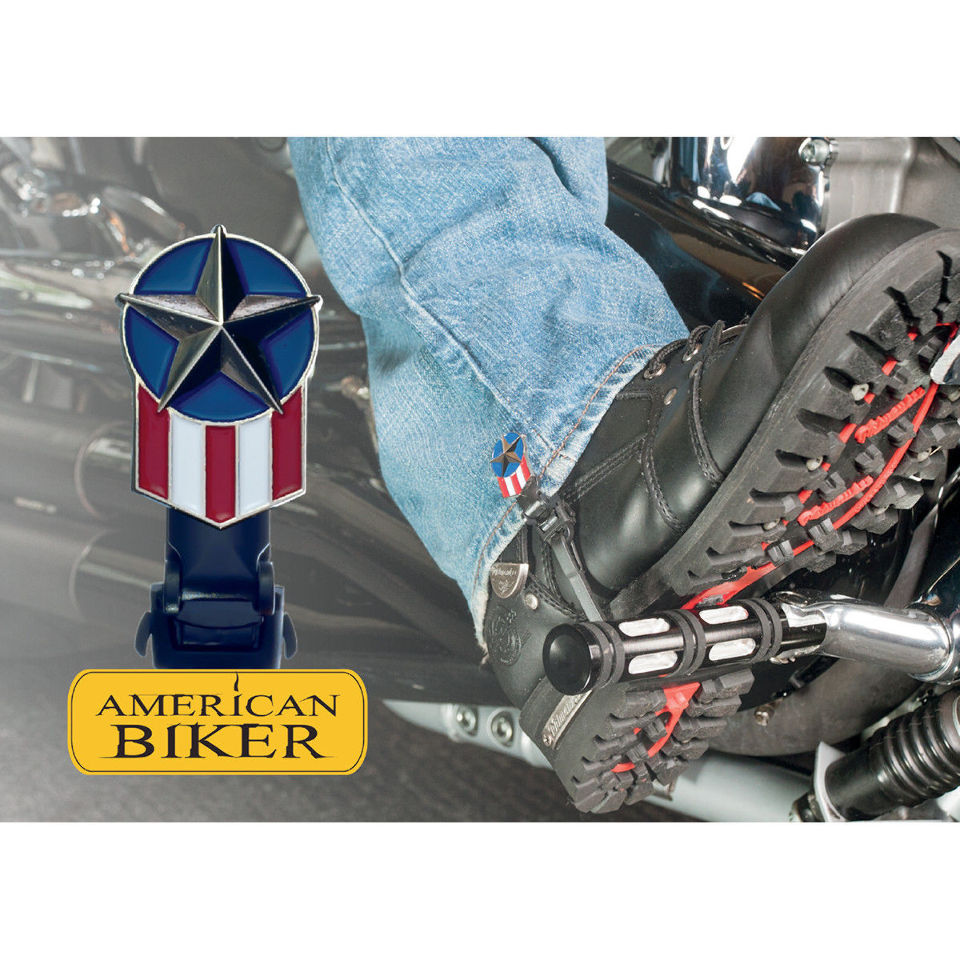 American biker 4 quot motorcycle biker boot straps made in usa ebay