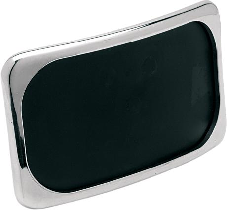 3 hole radius license plate frame