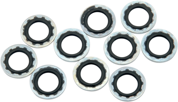 5//16in. Drag Specialties DS192373 AN Chrome Washers