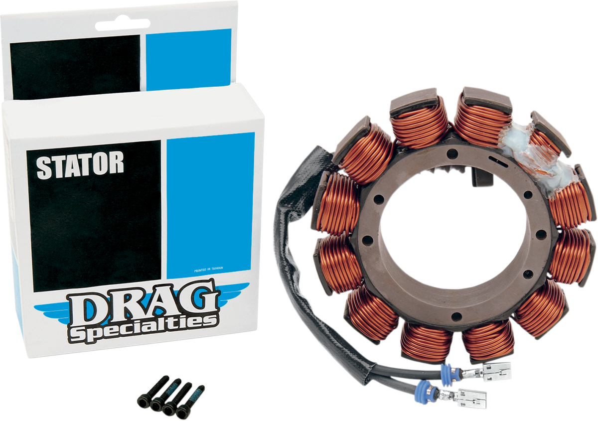 Drag Specialties 19a 12v Motorcycle Stator L84 90 Harley
