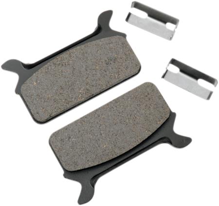 drag specialties semi metallic rear motorcycle brake pads