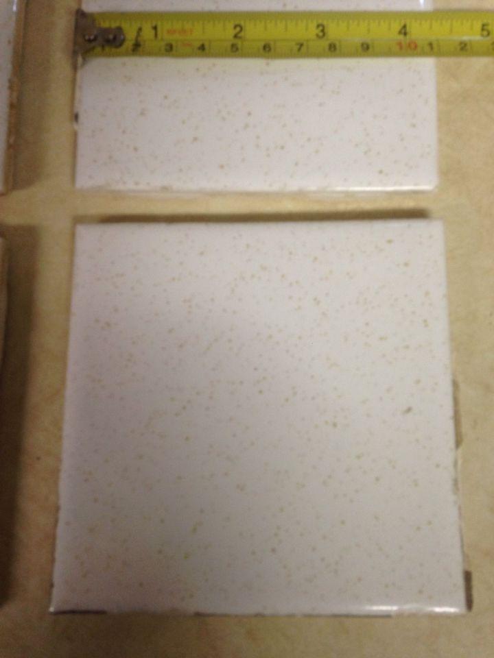8 Vintage 4 25 Quot Ceramic Bathroom Kitchen Tile White With