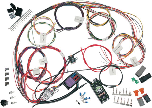 custom harley wiring harness custom image wiring namz custom complete motorcycle wire harness harley davidson on custom harley wiring harness