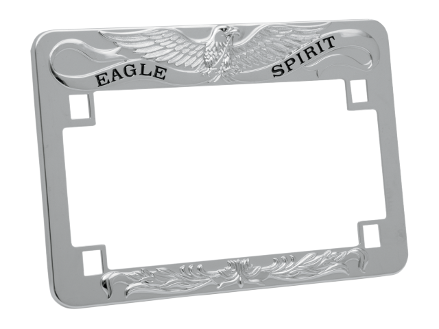 drag specialties eagle spirit license plate frame harley davidson fxd flh fxr xl
