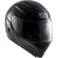 AGV Gloss Black Unisex Numo Fullface Motorcycle Riding Street Helmet Modular