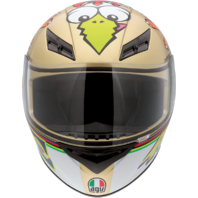 Agv Unisex K3 Gloss Chicken Full Face Motorcycle Riding Street Racing Helmet