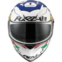 Agv Unisex K3 Comic Motorcycle Full Face Smoke Sun Shield Street Racing Helmet