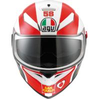 Agv Unisex K3 SV Marco Simoncelli Motorcycle Full Face Street Racing Helmet