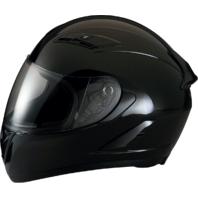 Z1R Strike Ops Gloss Black Full Face Motorcycle Riding Street Racing Helmet