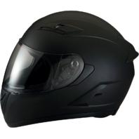 Z1R Strike Ops Flat Black Full Face Motorcycle Riding Street Racing Helmet