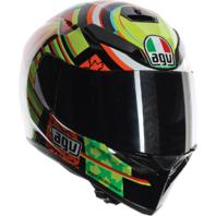 Agv Unisex K3 SV Elements Clear Smoke Sun Shield Motorcycle Street Racing Helmet