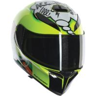 Agv Unisex K3 SV Misano Clear Smoke Sun Shield Motorcycle Street Racing Helmet