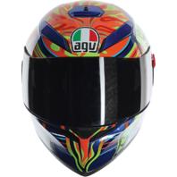 Agv Unisex Gloss K3 SV 5 Continents Full Face Motorcycle Street Racing Helmet
