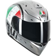 Agv Unisex K3 SV Gloss Scudetto Full Face Motorcycle Riding Street Racing Helmet