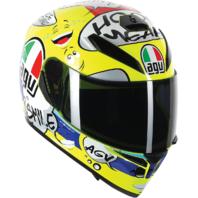 Agv Unisex K3 SV Gloss Groovy Motorcycle Riding Full Face Street Racing Helmet