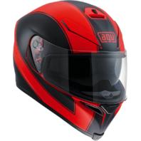 Agv Unisex Gloss Red Black K5 Motorcycle Riding Full Face Street Racing Helmet