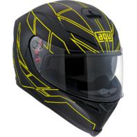 Agv Unisex Gloss Yellow K5 Motorcycle Riding Full Face Street Racing Helmet