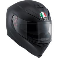 Agv Unisex Matte Black K5 Full Face Motorcycle Riding Street Racing Helmet