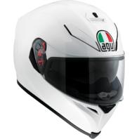 Agv Unisex Pearl White K5 Full Face Motorcycle Riding Street Racing Helmet