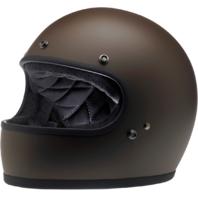 Biltwell Gringo Brown Unisex Motorcycle Riding Street Racing Full Face Helmet