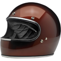 Biltwell Gringo Gloss Red Metallic DOT Motorcycle Full Face Street Racing Helmet