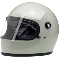 Biltwell Gringo S Gloss Green Motorcycle Full Face Street Riding Helmet Harley