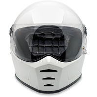 Biltwell Gloss White Lane Splitter Fullface Motorcycle Street Racing Helmet
