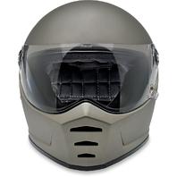 Biltwell Unisex Titanium Lane Splitter Full Face Motorcycle Riding Street Helmet