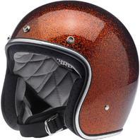 Biltwell Bonanza DOT Brown Open Face Motorcycle Riding Street Racing Helmet