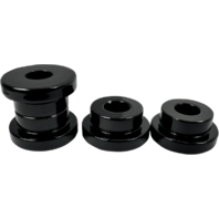 La Choppers Black Solid Riser Bushing Kit 84-17 Harley Dyna Softail Sportster