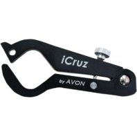 "Avon Black Small iCruz 7/8"" Handlebar Hand Grip Throttle Lock Harley Davidson"