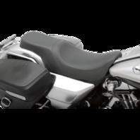 Drag Specialties 2 Up Smooth Predator Motorcycle Seat 94-96 Harley-Davidson FLHR