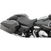 Drag Specialties Low Profile Smooth Solo Seat 08-19 Harley Davidson Touring FLHX