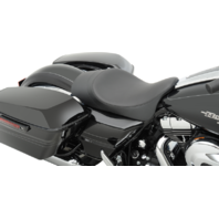 """Drag Specialties Low Profile Smooth 2"""" Forward Solo Seat 08-19 Harley FL"""