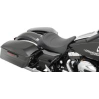 Drag Specialties Mild Stitch Solo Seat 08-19 Harley Touring FL FLHT FLTR FLHX