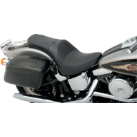 Drag Specialties Smooth Solo Style Seat 84-99 Harley Davidson Softail FLST FXST
