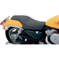 Drag Specialties Predator Flame Stitch Seat Harley 82-03 Sportster XL XLH XLX