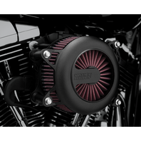 Vance & Hines Black Rogue Air Cleaner Kit 99-17 Harley Dyna Touring Softail FLHX