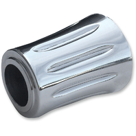 Accutronix Chrome Heel Shift Eliminator for 84-17 Harley Touring Bagger FLHX