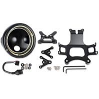 "JW Speaker LED Black 7"" Front Headlight Conversion Mounting Kit For 14-17 Ducati"