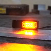 Joker Machine Pair Universal Black Amber LED Front 39mm Fork Turn Signal Kit