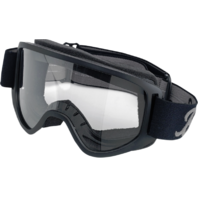 Biltwell Unisex Black Gray Universal Motorcycle Moto 2.0 Street Helmet Goggles