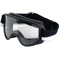 Biltwell Black Clear Lens Moto Motorcycle Helmet Riding Street Racing Goggles