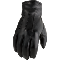 Mens Z1R Black 938 Leather Motorcycle Riding Street Racing Gloves Harley