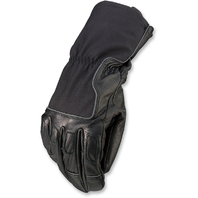 Mens Z1R Waterproof Black Textile Recoil Motorcycle Riding Street Racing Gloves