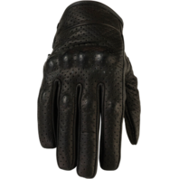 Womens Z1R 270 leather motorcycle biker street gloves