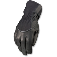 Women Z1R Waterproof Black Textile Recoil Motorcycle Riding Street Racing Gloves