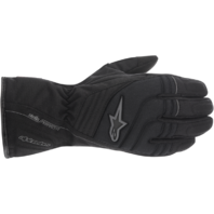 Womens Alpinestars Stella Textile Drystar Black Motorcycle Riding Street Gloves